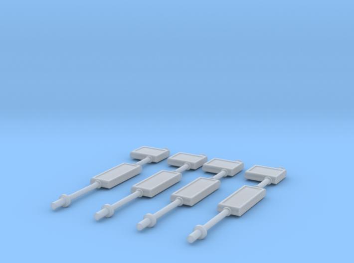 TJ-H01134x4 - Arrets de bus 3d printed