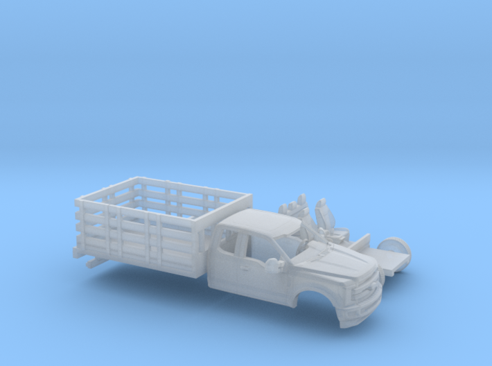 1/160 2017 Ford F-Series Ext Stakebed Kit 3d printed
