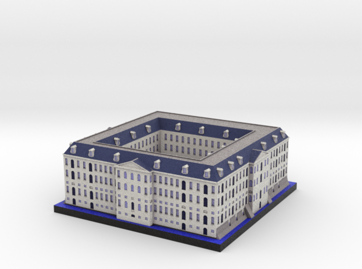 National Maritime Museum Amsterdam (5x4) 3d printed