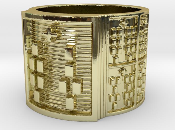 IRETEUNTEDI Ring Size 13.5 3d printed