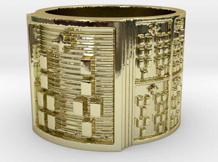 IRETELASO Ring Size 13.5 3d printed