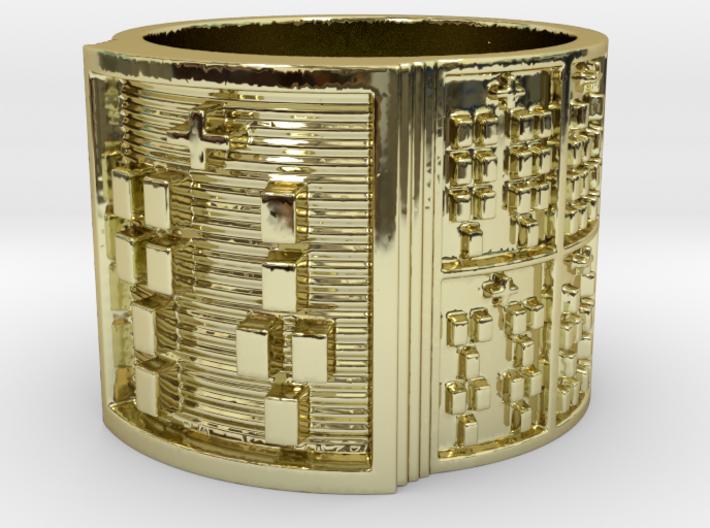 IRETEJUANI Ring Size 14 3d printed