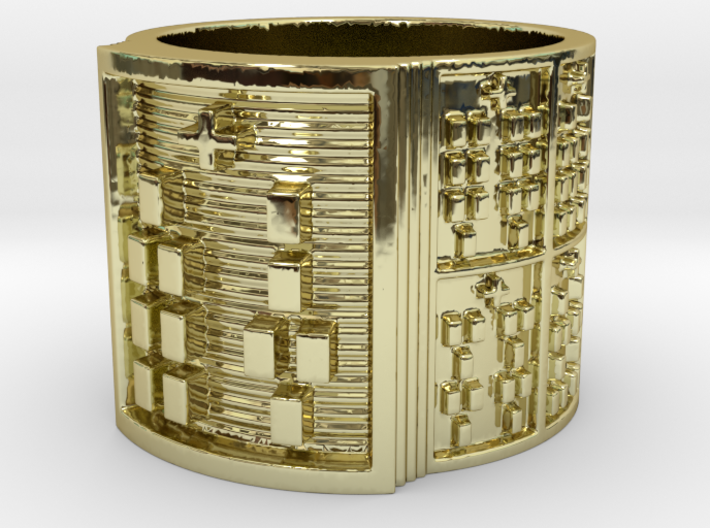 IRETEBARA Ring Size 11-13 3d printed