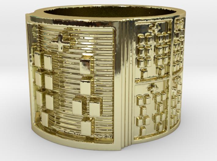 IRETEKANA Ring Size 14 3d printed