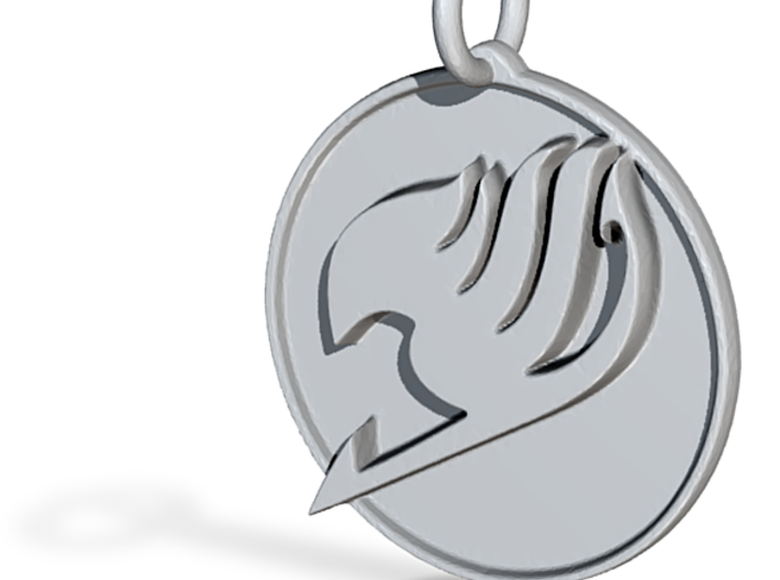 Fairy Tail pendant 3d printed