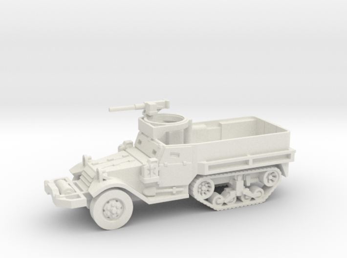 M9 Half-track (Usa) 1/100 3d printed
