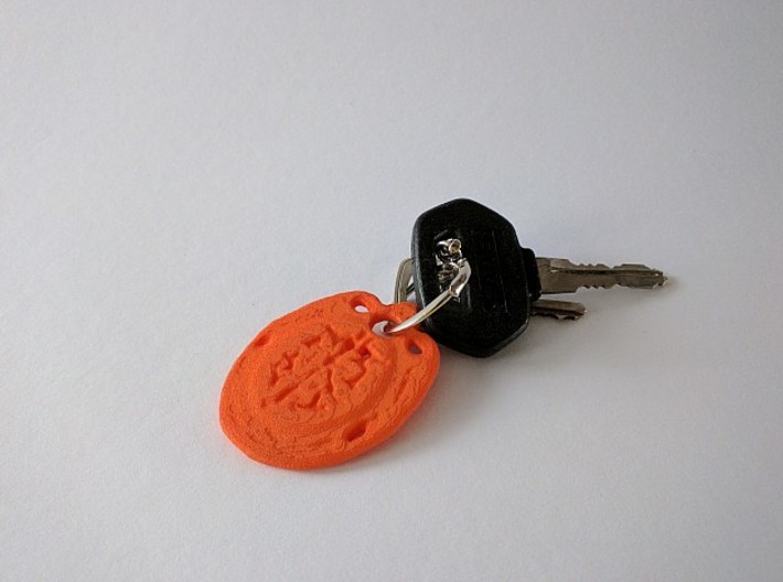 Key-Chain Thought 3d printed ..celebrating a new Car?