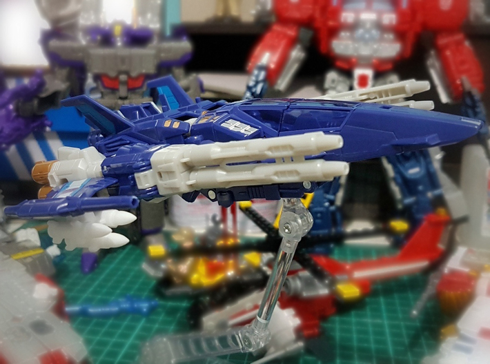 Transformers Missile Rack (5mm post) 3d printed Image by seanmarclee (Titans Return Triggerhappy)