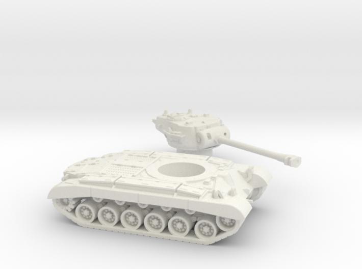 M26 Pershing (USA) 1/100 3d printed