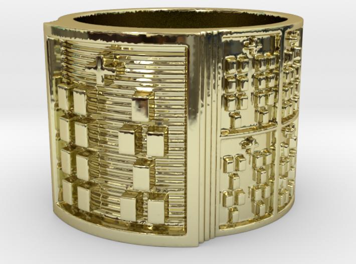 OSHEYEKUN Ring Size 13.5 3d printed