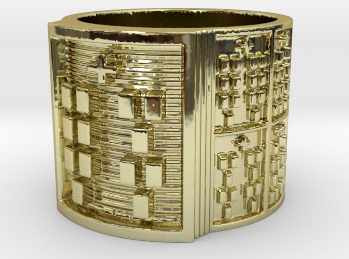 OFUNKANA Ring Size 11-13 3d printed