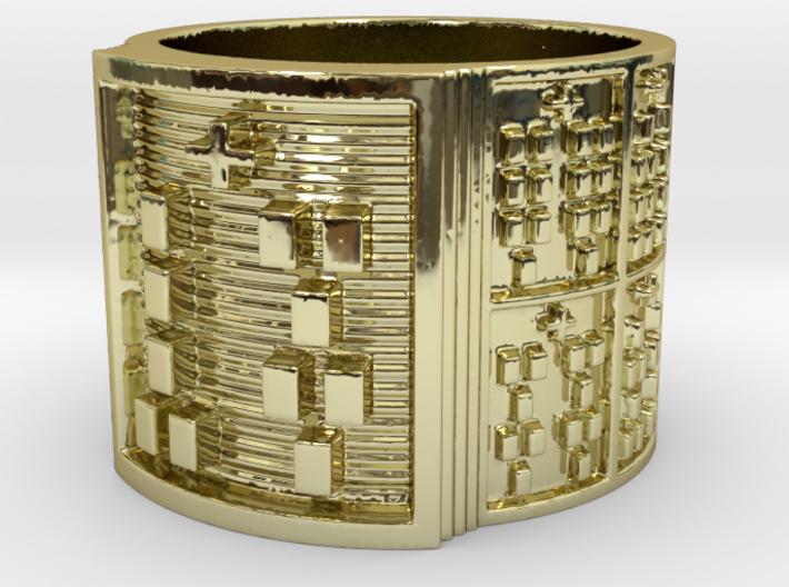 OFUNFUNDA Ring Size 14 3d printed