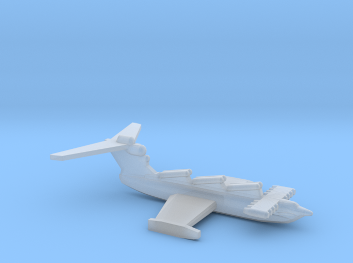 Lun-class ekranoplan, 1/2400 3d printed
