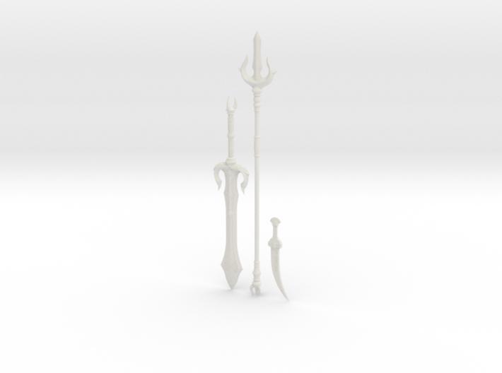 """BotW"" Gerudo Weapons Set 3d printed"