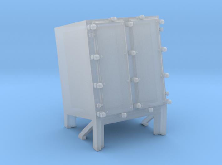 1/144 Ammo Locker for Hedgehog Thrower 3d printed