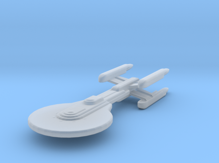 Excelsior 4-nacelled study I 1/7000 Attack Wing 3d printed