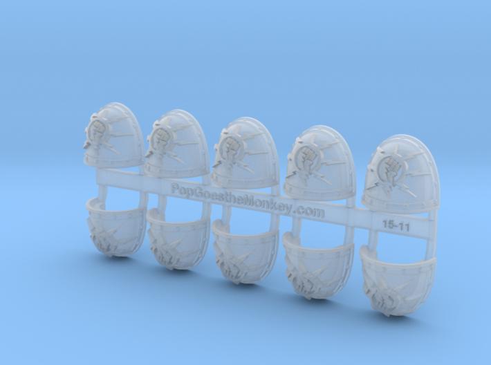 10x Storm Fist - G:2a Shoulder Pads 3d printed
