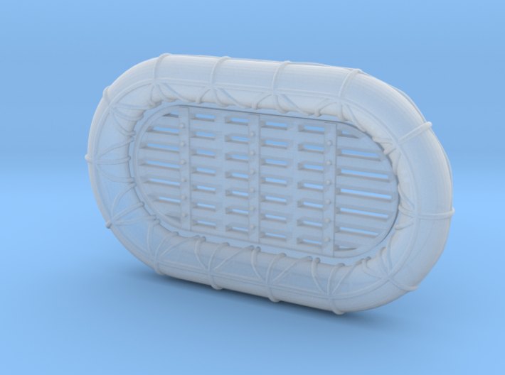 1/500 RN WW2 12ft x 7ft Carley Floats (48) 3d printed 1/500 RN WW2 12ft x 7ft Carley Floats (48)