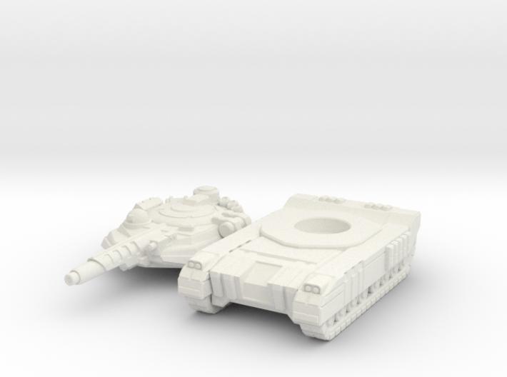 Terran Laser Tank 3d printed