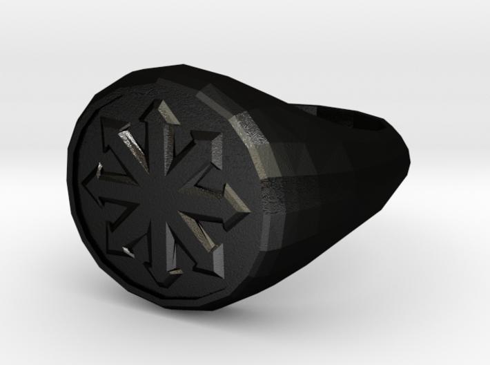 Men's Chaos Signet Ring 3d printed