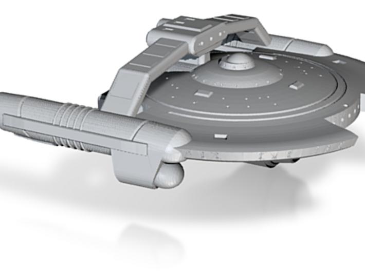 Terran Inspiration Class Corvette - 1:7000 3d printed