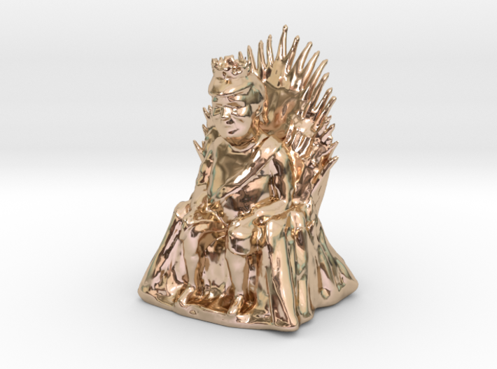 Donald Trump as Game of Thrones Character 3d printed