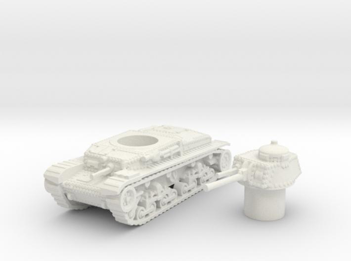 Panzer 35(t) (Czechoslovakia) 1/100 3d printed