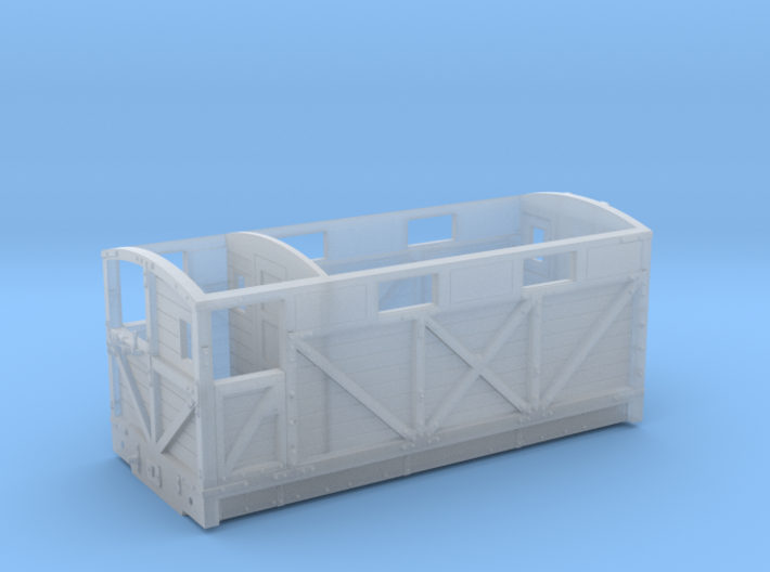 NSR 20ton Cravens Brake Van body - 4mm scale 3d printed