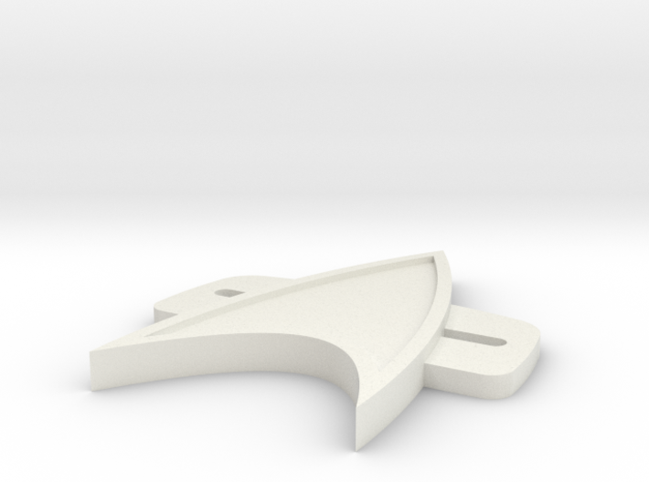 VoyagerBadge 3d printed