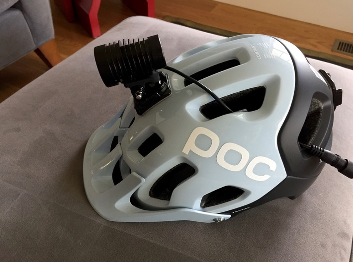 GoPro to Dinotte XML-3 Mount 3d printed