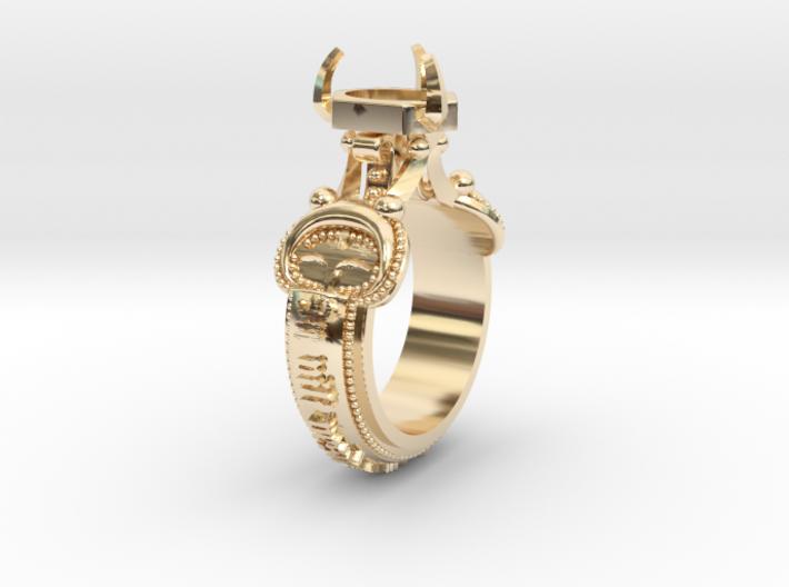 Ring Lindesberg 3d printed