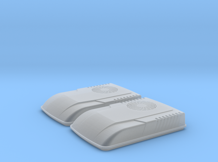 Carrier AirV Air Conditioner (O - 1:48) 2X 3d printed