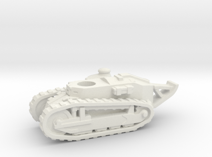 Renault FT tank (French) 1/144 3d printed