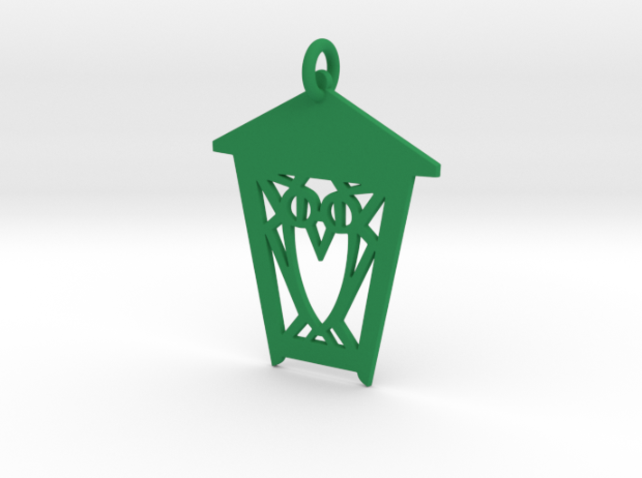 Owl Lantern Ornament 3d printed
