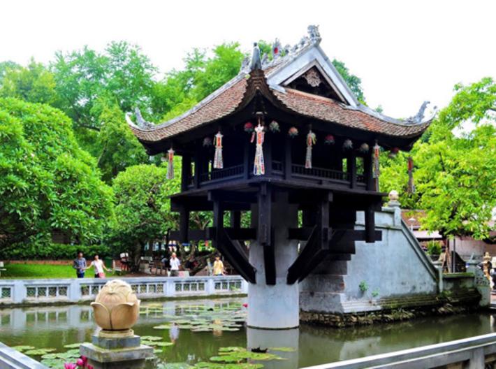One Sillar Pagoda - vietnam pagoda - Cherry MX key 3d printed