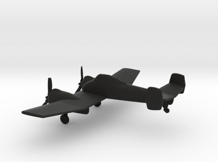 Grumman XF5F Skyrocket 3d printed