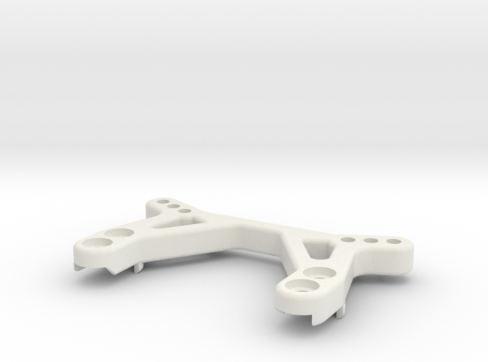 TC02c Evo Low Profile Front Shock Tower 3d printed