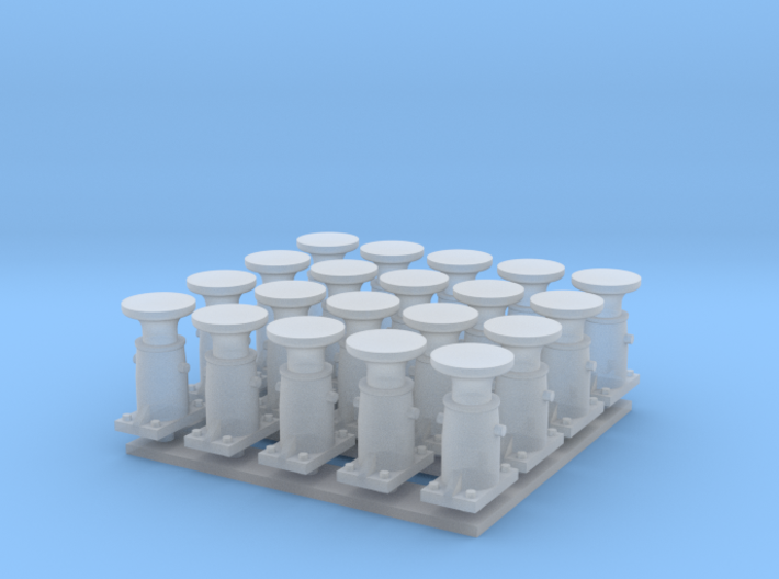 Puskin 20kpl pyöreä (H0) 3d printed