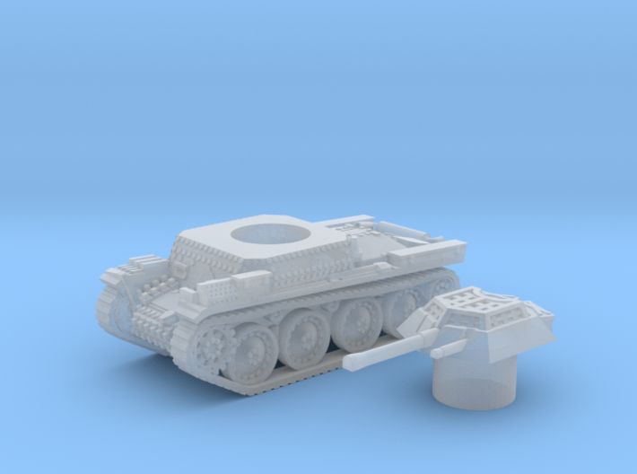 Panzer 38(t) (Czechoslovakia) 1/200 3d printed