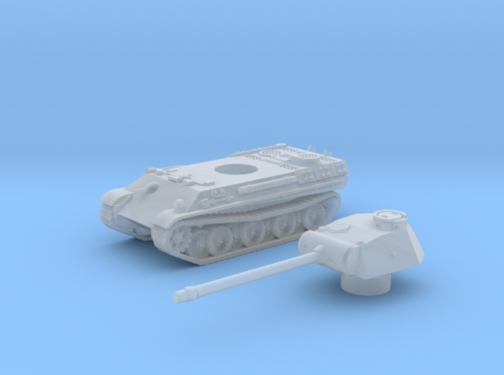 Panther tank (Germany) 1/200 3d printed