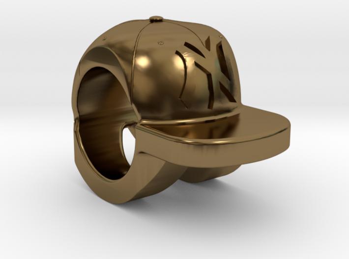 new york yankees baseball cap charm 3d printed
