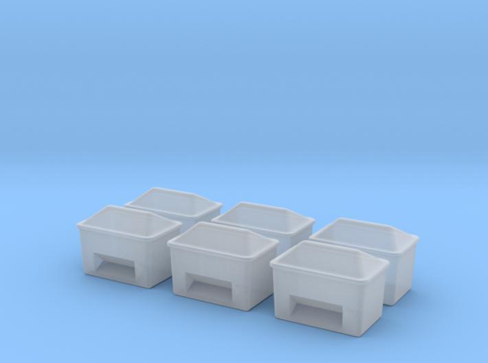 TJ-H01129x6 - Bacs à sable ou a sel 3d printed