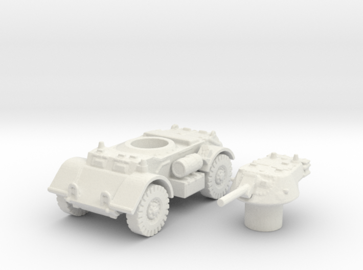T17 Staghound (Usa) 1/144 3d printed