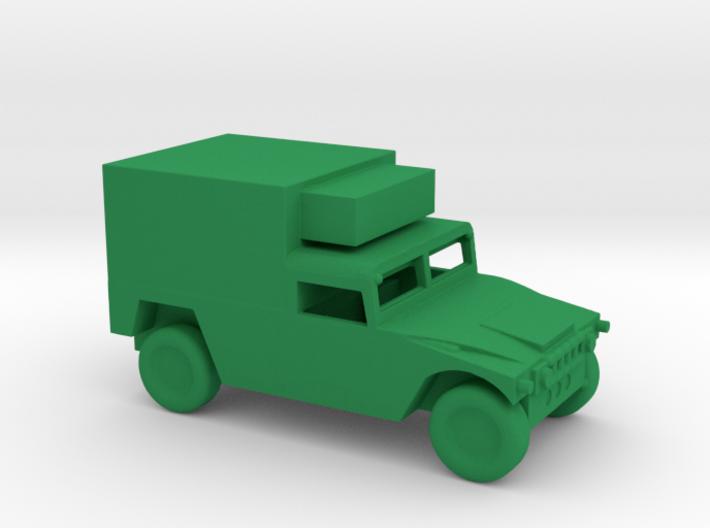1/160 Scale Humvee Box 3d printed
