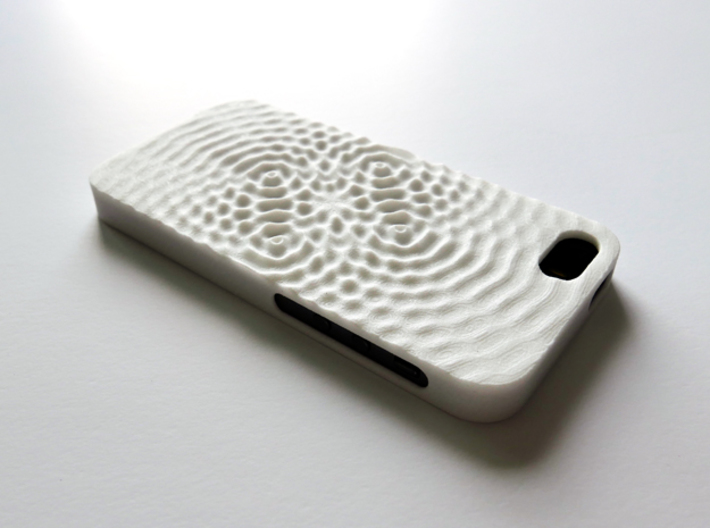 iPhone SE Case_Ripples 3d printed