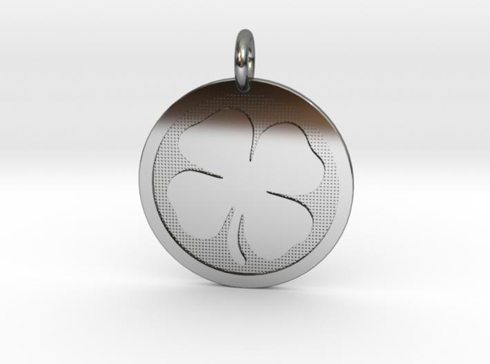 Four-Leaf Clover 3d printed
