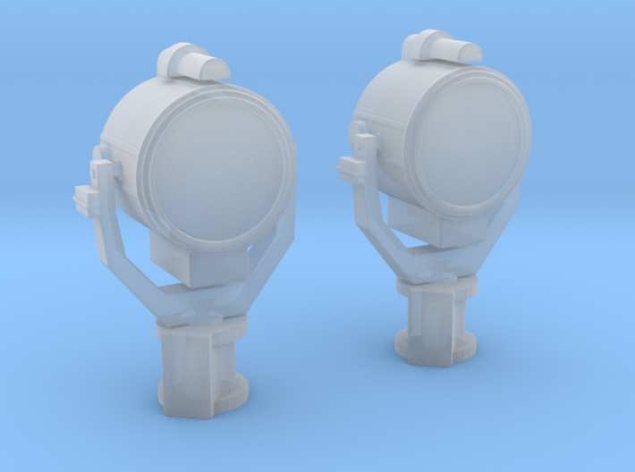 1/125 USN Searchlight 24 inch Set x2 3d printed