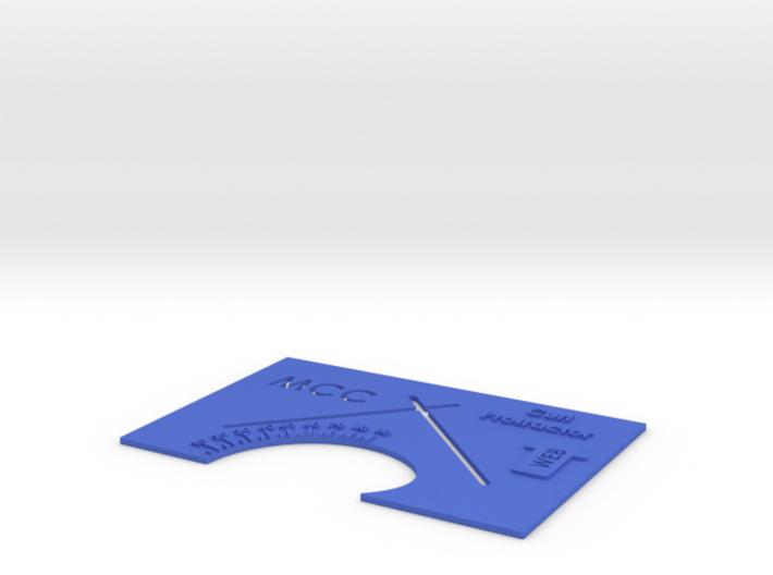 MCC Curl Tester Short Version 3d printed