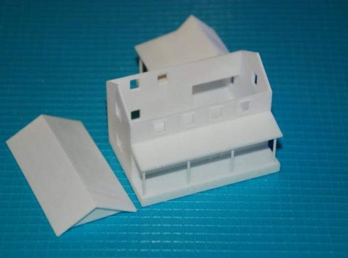 CBR Section Foreman House - Z Scale 3d printed Interior