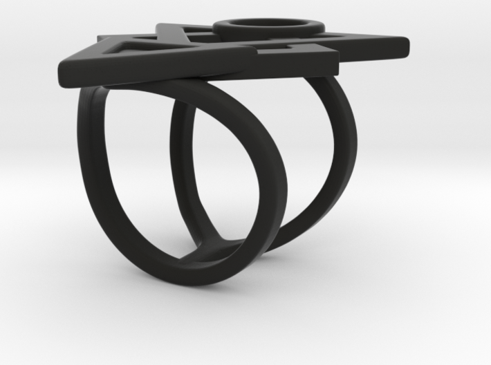 Ring of Hatred 3d printed